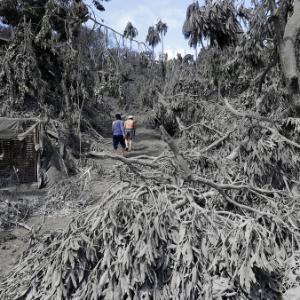 Despite danger, Filipinos made restive volcano their home
