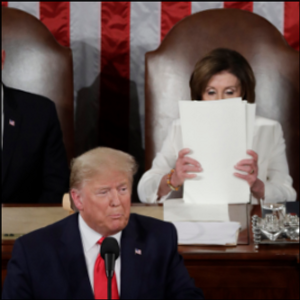 STEVENS: Pelosi ripping Trump's speech: our fave rule-breakers brought to life