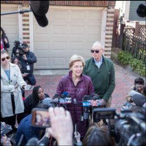 STEVENS: Why Elizabeth Warren's exit feels personal to women