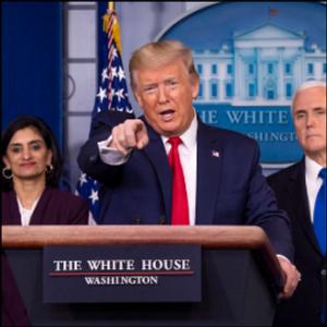 LEUBSDORF: Trump has his crisis moment as president