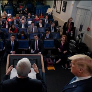 MCMANUS: Trump's strange coronavirus show