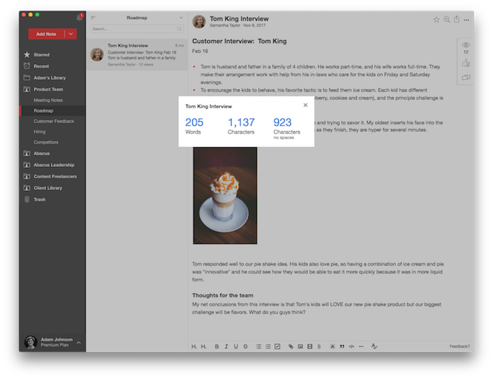 Release Notes – Notejoy