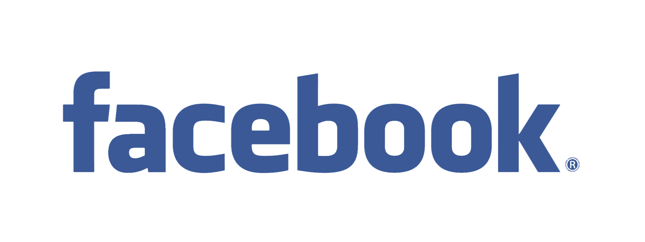 Facebook logo reversed