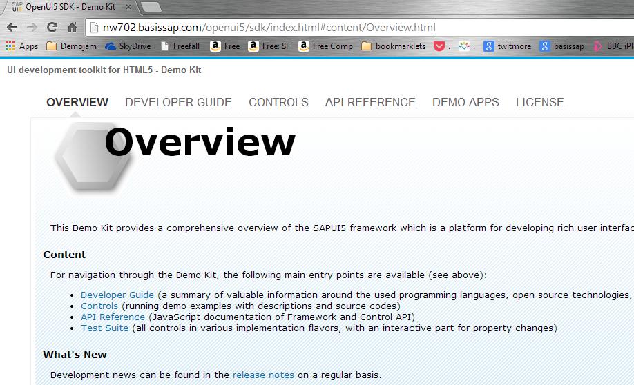 SAPUI5 Developer Center