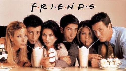 antes y despues de friends