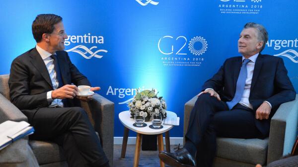 Marchas en Buenos Aires contra el G-20