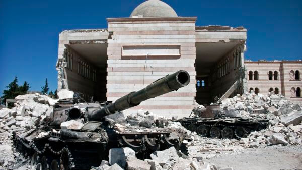 206 civiles murieron en noviembre por bombardeos de EUA en Siria