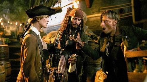 reboot de 'Piratas del Caribe'… sin Johnny Depp.