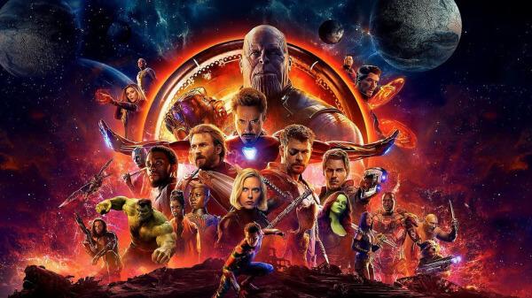 Infinity War y Black Panther líderan la taquilla mundial