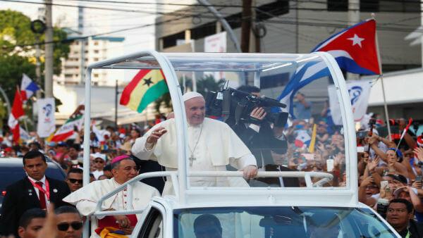 El papa en panamá 2019