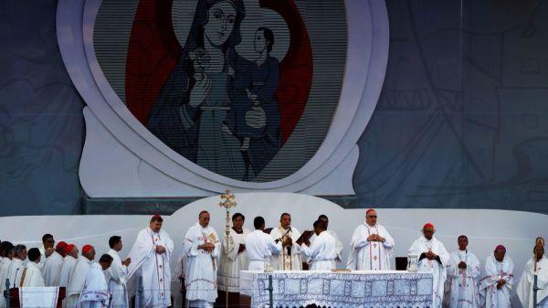 foto del papa en panamá