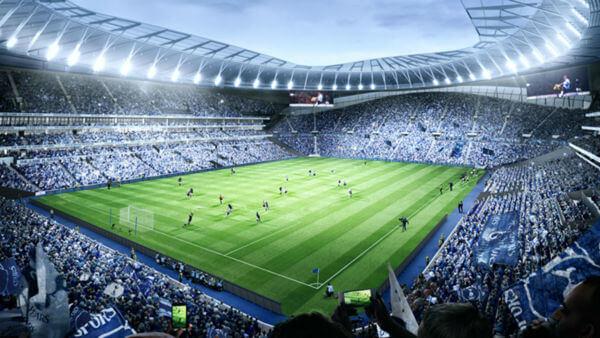 nuevo estadio del tottenham