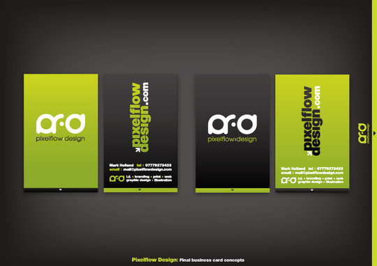 Business Card Design: crezo - pfd business cards v3
