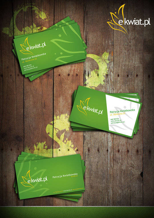 Business Card Design: RadASS - e-kwiat.pl