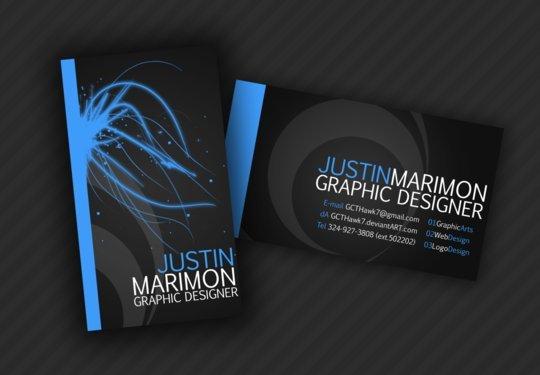 Business Card Design: GCTHawk7 - Business Card