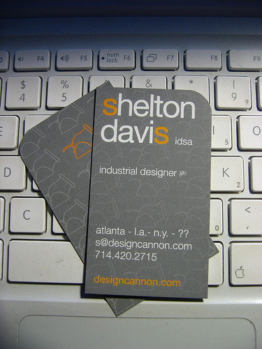 Business Card Design: sheltondavis - Design Cannon :: Shelton Davis Business Card