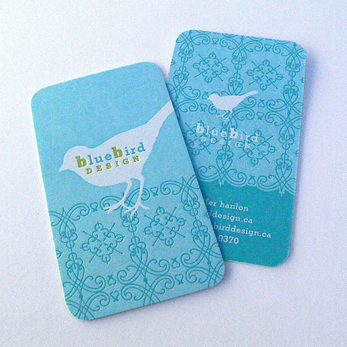 Business Card Design: The Mandate Press - Bluebird Design BC