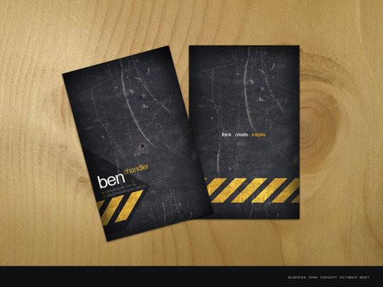 Business Card Design: e1337zA - Business Card - hireAdesigner