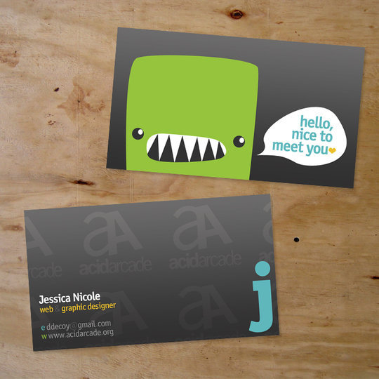 Business Card Design: ribcages - Business Card 02