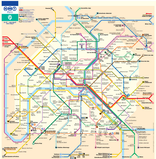 Metro and Underground Maps Designs Around the World | The JotForm Blog