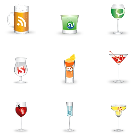 Cheers: A Free Social Icon Set