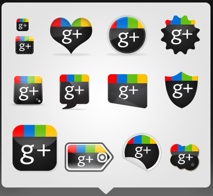 Free Google Plus Icons Set