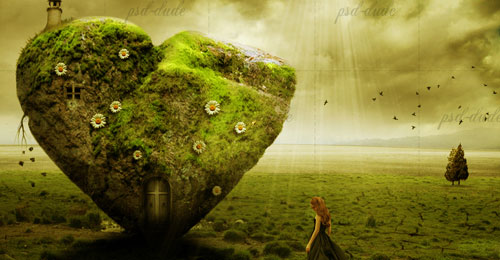 The Stone Heart Photo Manipulation Tutorial