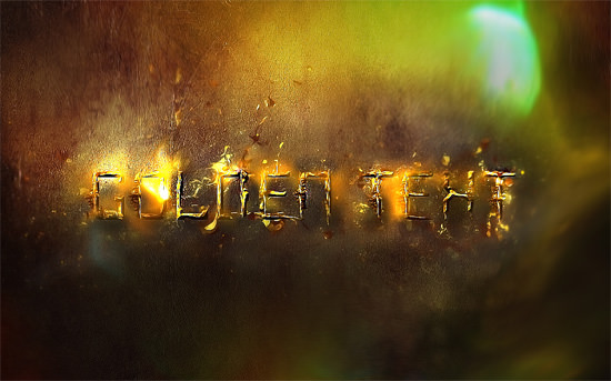 Sky's The Limit: 40 Fresh and Free Photoshop Text Effects | The