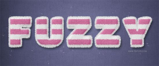 striped-fuzzy-text-effect