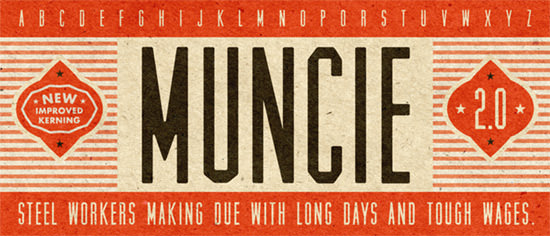 Vintage Style: 40 Free Retro Fonts Not Only for Hipsters | The