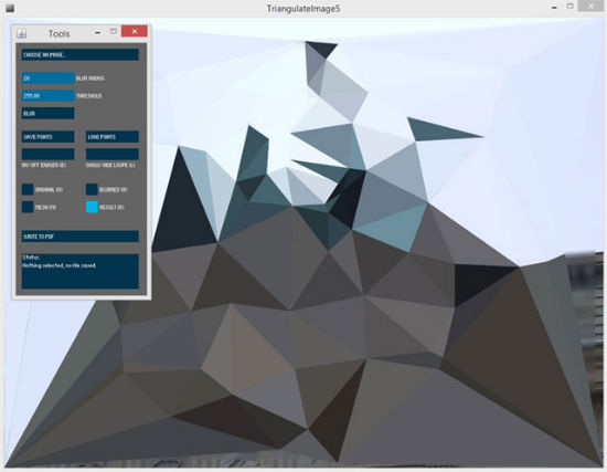 low-poly_image-triangulator-app