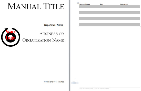Boring Work Made Easy: Free Templates for Creating Manuals