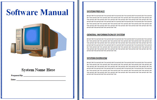 software-manual