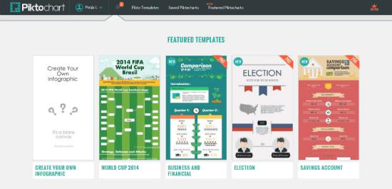 10-tools-to-create-infographics-pik2chart templates