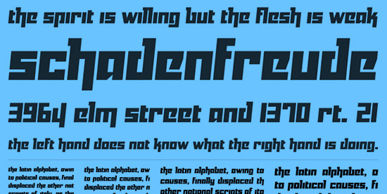Cutting-edge: 40 Free Futuristic Fonts of Today | The JotForm Blog