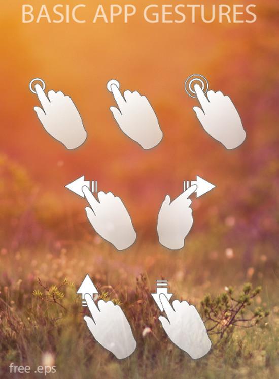 app gestures