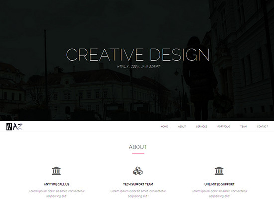 Blast From The Past 4 100 Best Free Htmlcss Themes Of