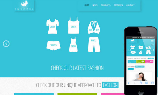 clothes website