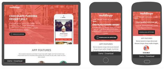 mobile app site
