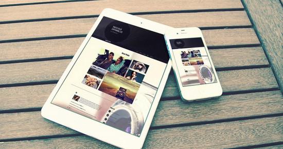 responsive online portfolio