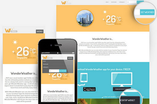 weather website