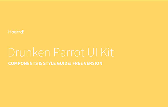 Drunken Parrot UI Kit