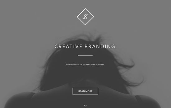 Landing Website Template Plus Behance API