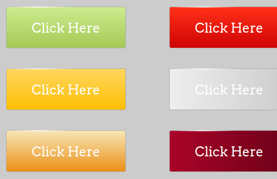 Web Design Takeaway: 40 CSS Buttons, Tutorials and Code Snippets