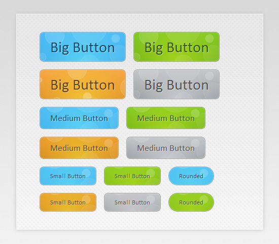 Web Design Takeaway: 40 CSS Buttons, Tutorials and Code