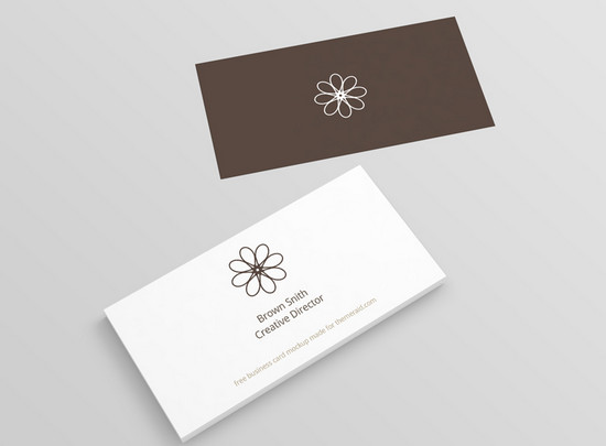 minimal b card