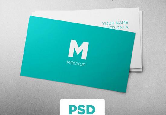 minimalistic b card