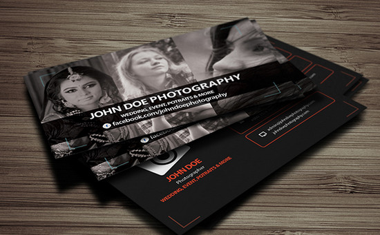 photography b card