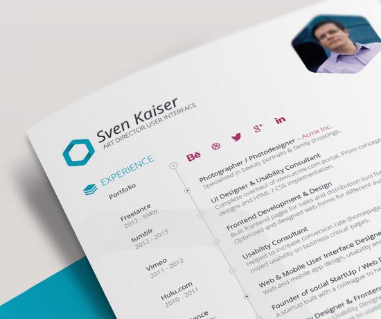 resume by sven