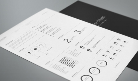 resume template by fernando
